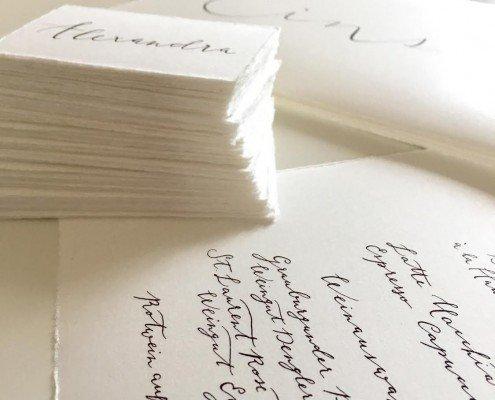 Büttenpapier Karten Briefpapier