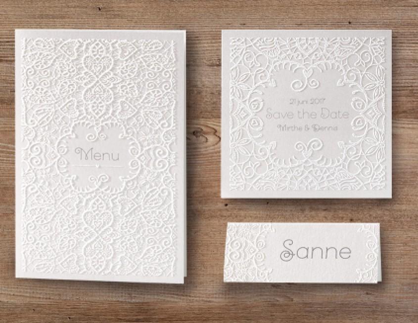 elegante Hochzeitskarte mit Ornamente und Schnörkel, hochzeitskarten einladungen