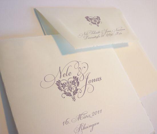 Hochzeitskarten Buttenpapier Besondere Einladungskarten Fur Hochzeit