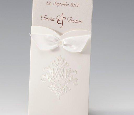Orientalische Eleganz Frese Hochzeitskarten Dusseldorf