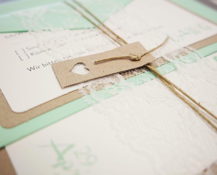 Hochzeitskarte, Strukturkarton, Spitze, hochzeitskarten deko