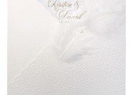 Einladungskarte, Namen des Brautpaares, Hochzeitskarten kreativ