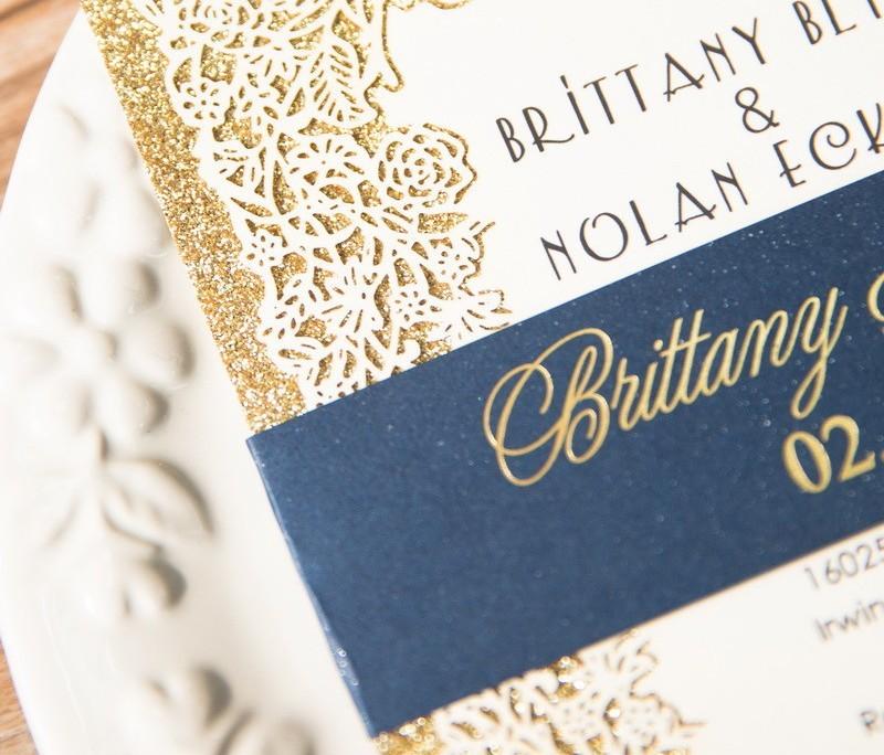 Royal Gold Frese Hochzeitskarten Dusseldorf