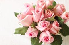 Hochzeit Blumen Rosa