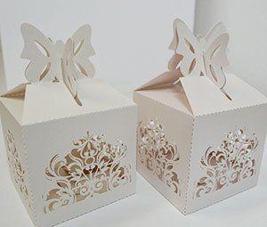 Geschenkbox Hochzeit Ornamente
