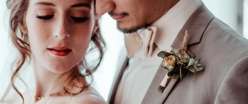 Hochzeit Brautpaar Elegant