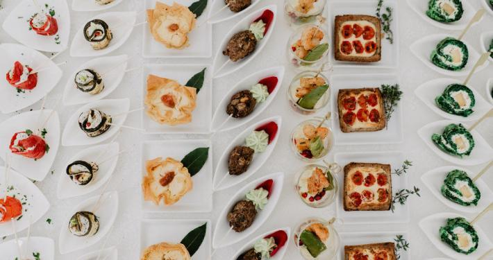 Hochzeitsessen, Fingerfood, Buffet
