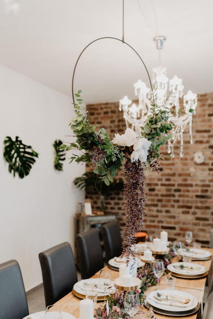 Vintage Hochzeit Blumen Dekoration