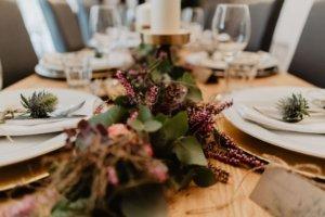 Vintage Hochzeit Tischdekoration Floristik