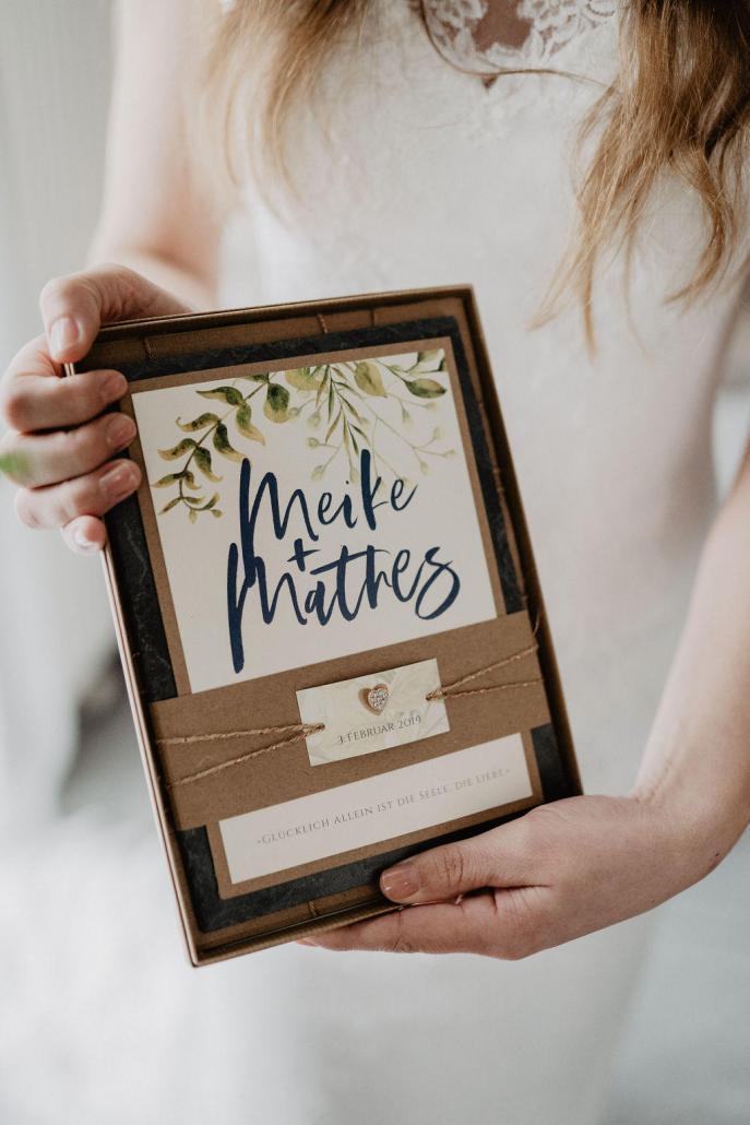 Vintage Hochzeitseinladung Braut hochzeitspapeterie boho