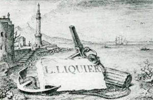 Visitenkarte Besuchskarte Liquire