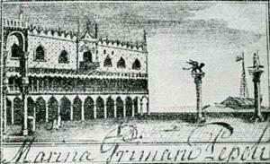 Visitenkarte Besuchskarte Marina Primani