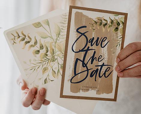 Hochzeitspapeterie mit individueller Kalligraphie, Druckerei für Einladungskarten, Briefumschläge, Danksagungskarten, Tischkärtchen mit Handschrift usw.