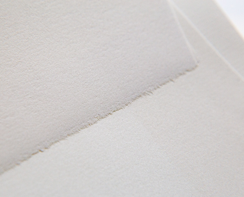 büttenpapier detail hochzeitspapeterie