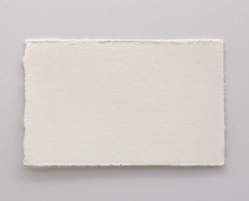 visitenkarte bütten papier