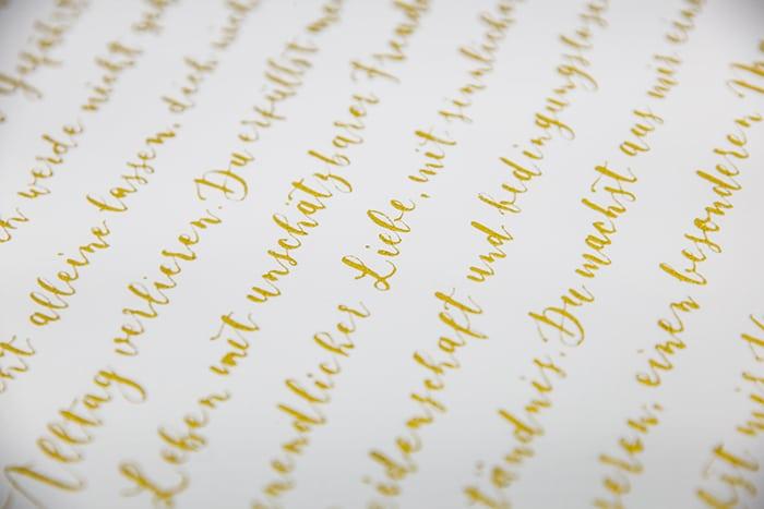hochzeit liebe kalligraphie